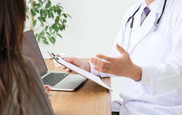 2医師の診察