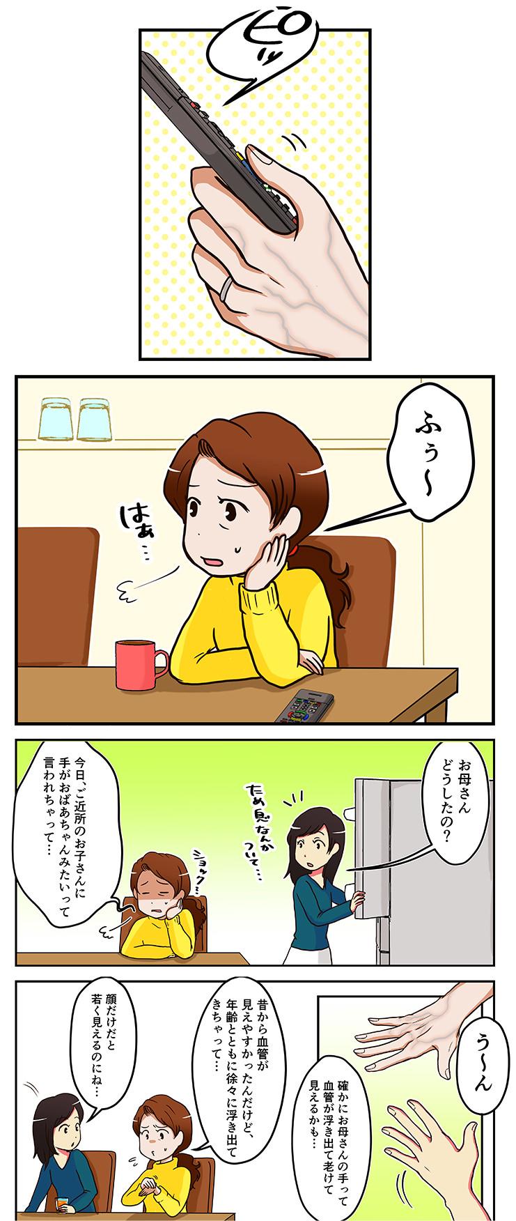 ハンドベイン漫画1(スマホ)